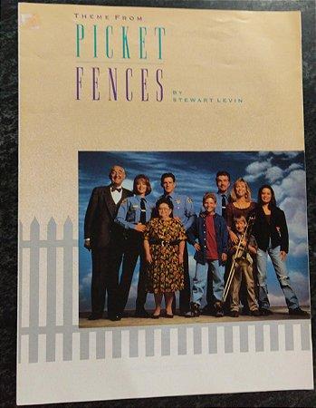 PICKET FENCES - partitura para piano - Stewart Levin