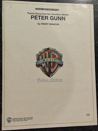 PETER GUNN - partitura para piano - Henry Mancini