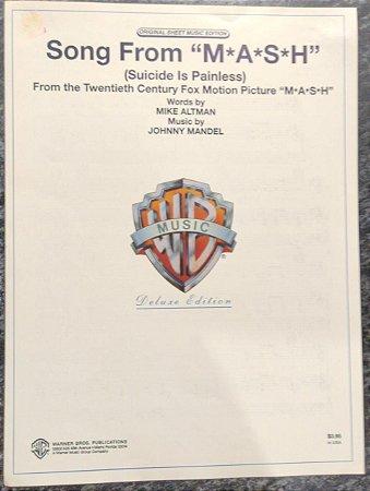 SONG FROM MASH SUICIDE IS PAINLESS) - partitura para piano, caanto e cifras para violão - Mike Altman e Johnny Mandel