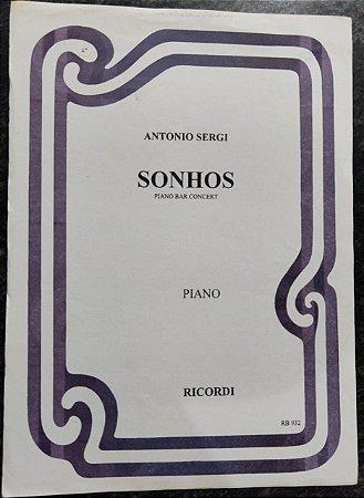 SONHOS - partitura para piano solo - Antonio Sergi