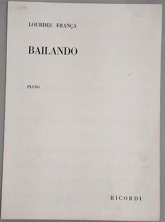 BAILANDO - partitura para piano - Lourdes França