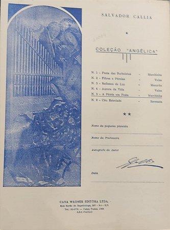 A PÁTRIA EM FESTA - partitura para piano - Salvador Callia