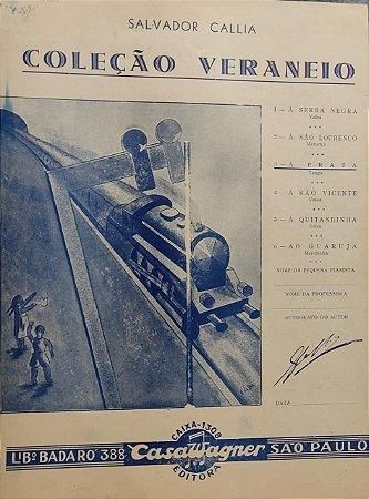 A PRATA - partitura para piano - Salvador Callia