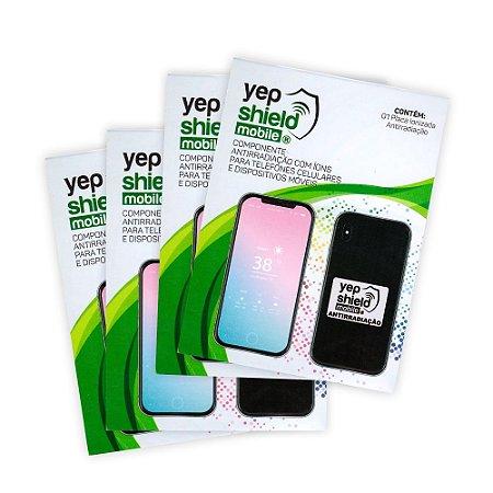 Kit 04 Chips Neutralizadores de Poluição Eletromagnetica - Neutralizer YEP Shield