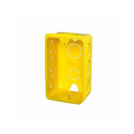 Caixa Injerest de Luz 4X2 Amarela AR