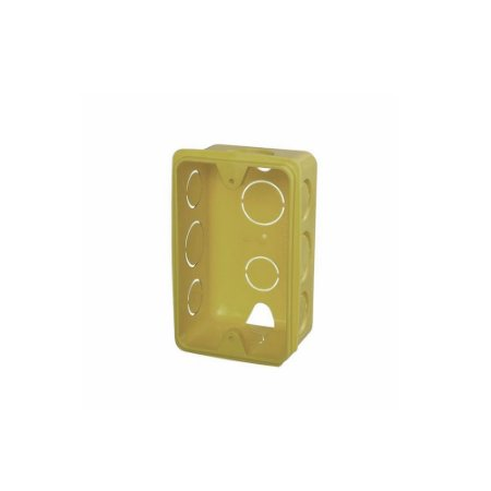 Caixa Injerest de Luz 4X2 Amarela B