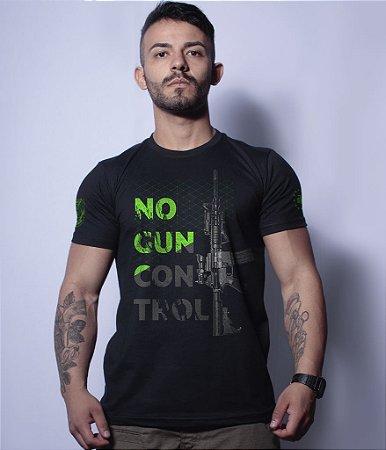 Camiseta Militar Magnata No Gun Control