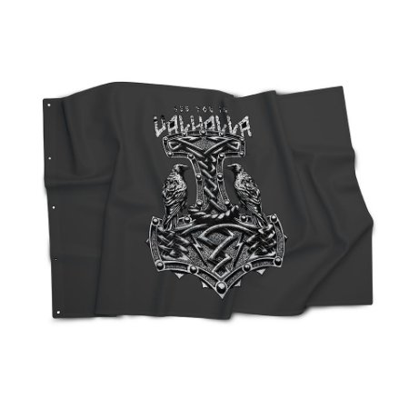 Bandeira Magnata See You In Valhalla