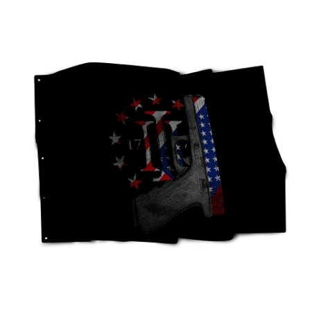 Bandeira Magnata Glock Three Percent