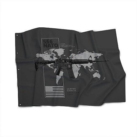 Bandeira Magnata 556 Nato American Guns