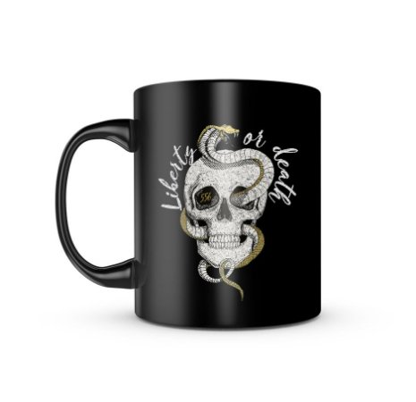 Caneca Magnata Liberty Or Death 325ML