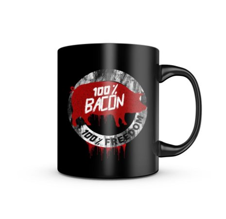 Caneca Magnata 100% Bacon 100% Freedom 325ML