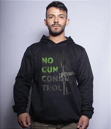 Casaco com Capuz Militar Magnata No Gun Control