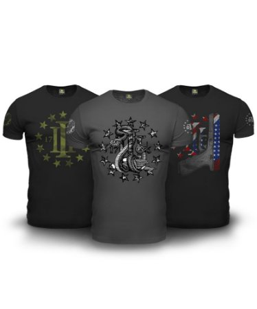 Combo 03 Camisetas Magnata Three Percent