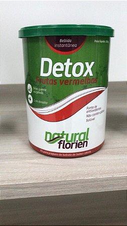 Detox frutas vermelhas