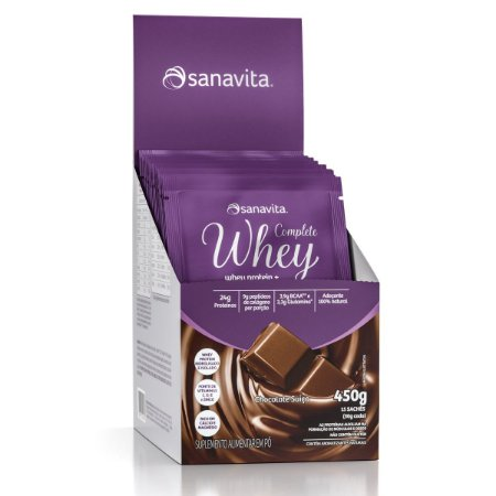 COMPLETE WHEY CHOCOLATE SUIÇO