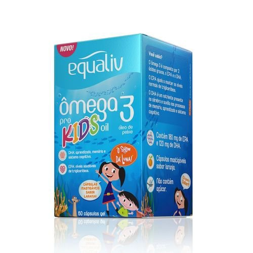 Equaliv Ômega 3 kids
