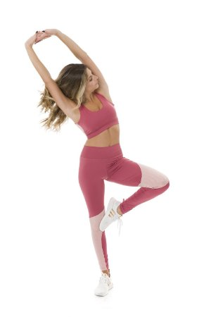 Legging Cross Over Pink