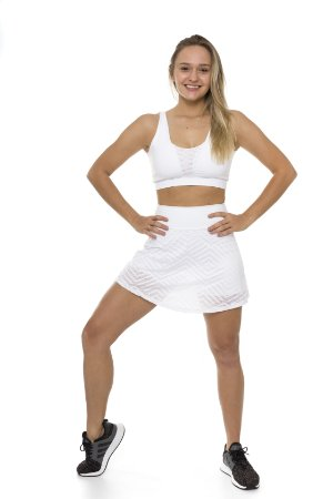 Saia com Shorts Ultra Trail White