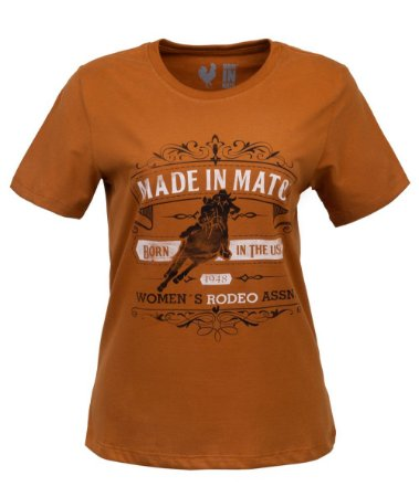 TSHIRT ESTAMPADA MADE IN MATO WOMAN´S RODEO CURRY