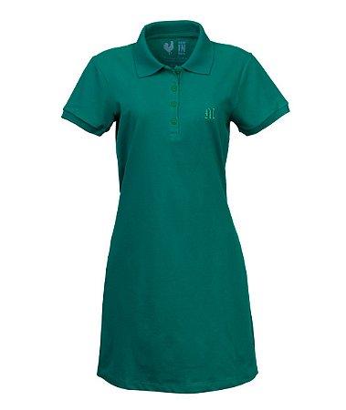 Vestido Polo Made in Mato Verde Alecrim