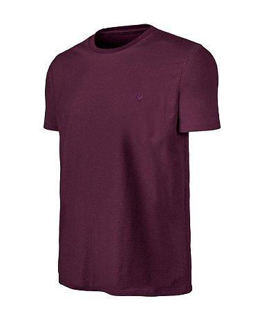 Camiseta Basic Vinho Cravo