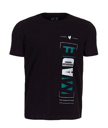 Camiseta Estampada Made in Mato New Made Preta
