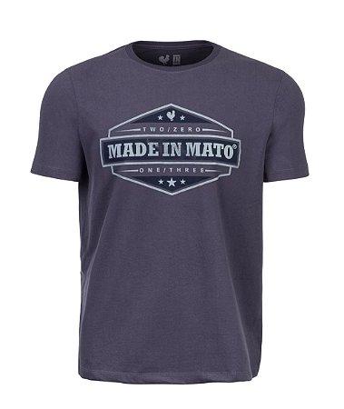 Camiseta Estampada Made in Mato Vintage Chia