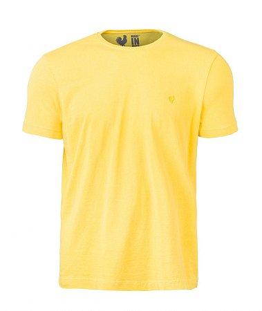 Camiseta Basic Amarelo Careca