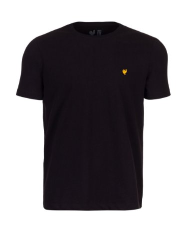 Camiseta Basic Preto Gola Careca