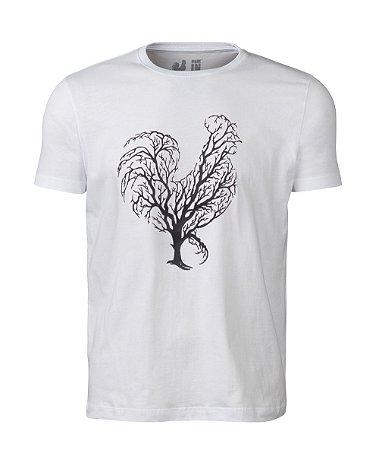 Camiseta Estampada Made in Mato Branco Arvore
