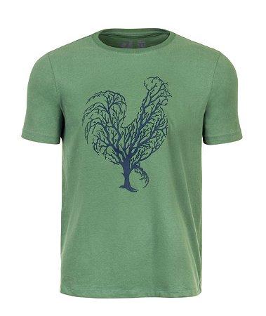 Camiseta Estampada Made in Mato Verde Arvore