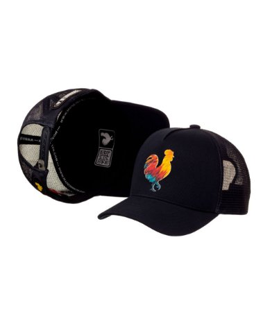 Bone Made in Mato Trucker Rooster Color I