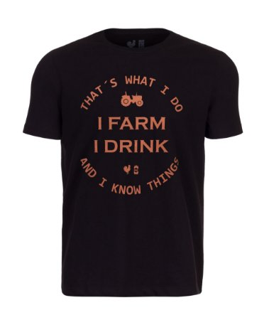 Camiseta Estampada Made in Mato Farmer Preto