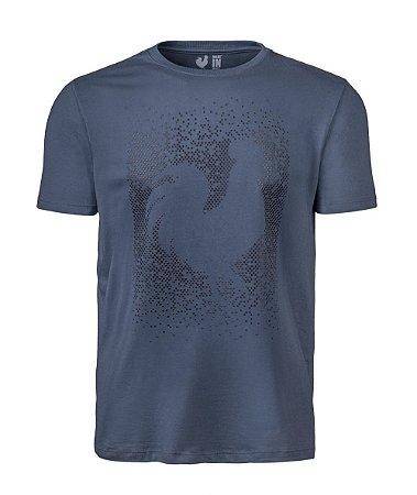 Camiseta Estampada Made in Mato Move Rooster Chumbo