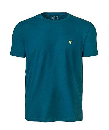 Camiseta Basic Azul Careca