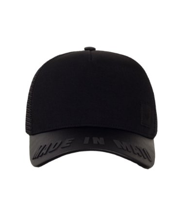 Boné Made In Mato Basic Black Trucker