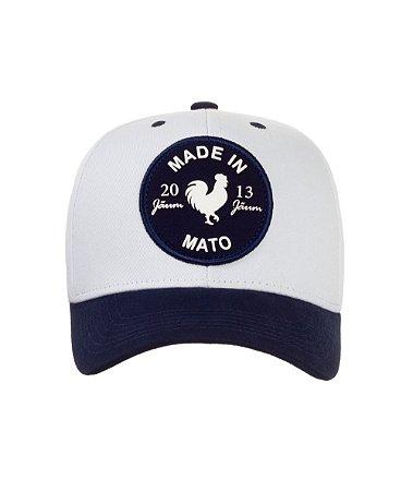 Boné Made in Mato Rooster Branco NV