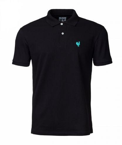 Camisa Polo Made in Mato Masculina Preta