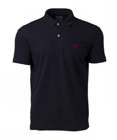 Camisa Polo Made in Mato Masculina Marinho