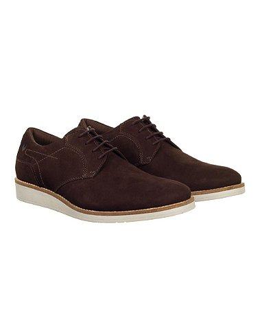 Sapato Masculino Made in Mato Casual Naturalle Nobuck Marrom