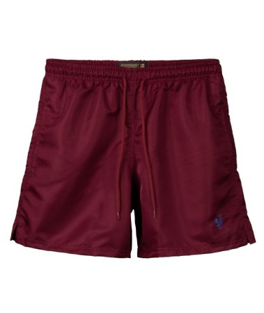 Shorts Made in Mato Tactel Bordô