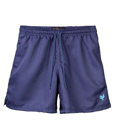 Shorts Made in Mato Tactel Azul Indigo