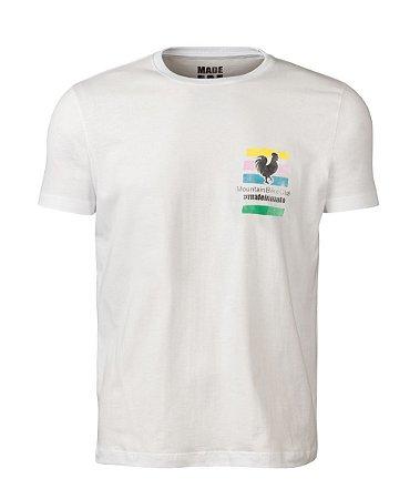 Camiseta Made in Mato Masculina Bike Club Off White