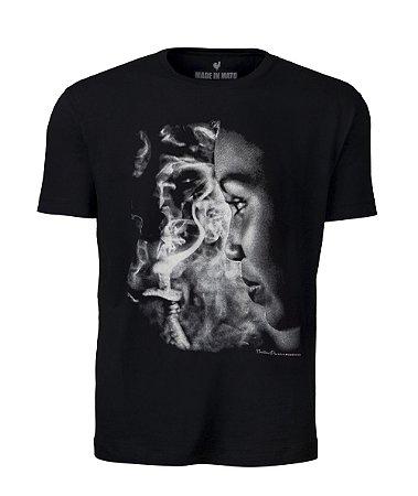 Camiseta Made in Mato e Noliton Pereira Fotografia Preta