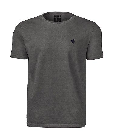 Camiseta Masculina Made in Mato Stone Preta