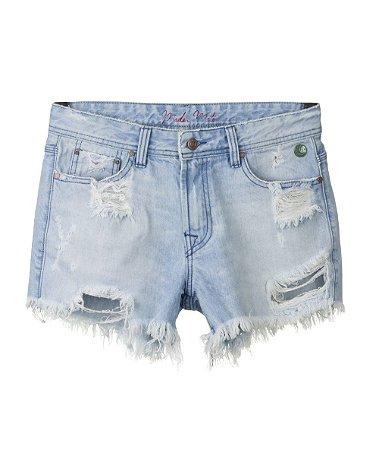 Short Jeans Feminino Made in Mato Destroyed
