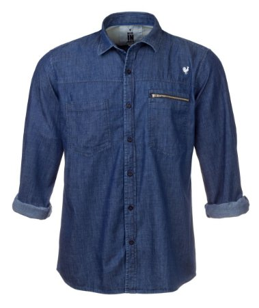 Camisa Masculina Made in Mato Jeans Manga Longa