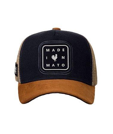Boné Made in Mato Black Icon
