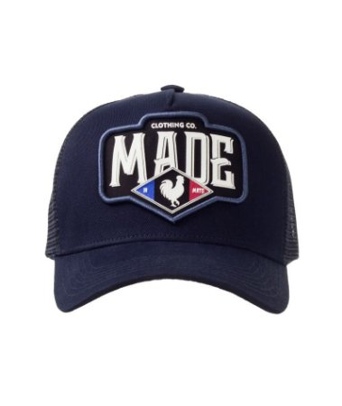 Boné Made in Mato Trucker France Marinho